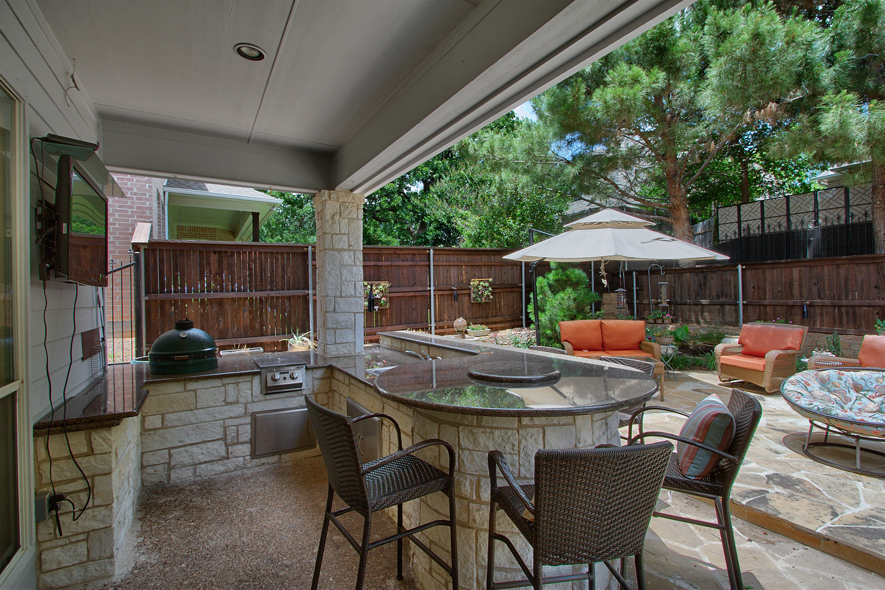 Attractive 2900 High Oaks Drive Grapevine TX Outdoor Patio