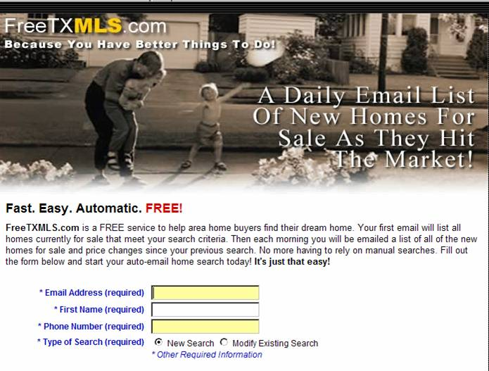 Search ALL Properties Listed in North Texas!